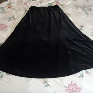 Laura Ashley velvet skirt